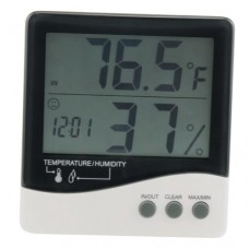 Grower's Edge® Large Display Digital Thermometer & Hygrometer